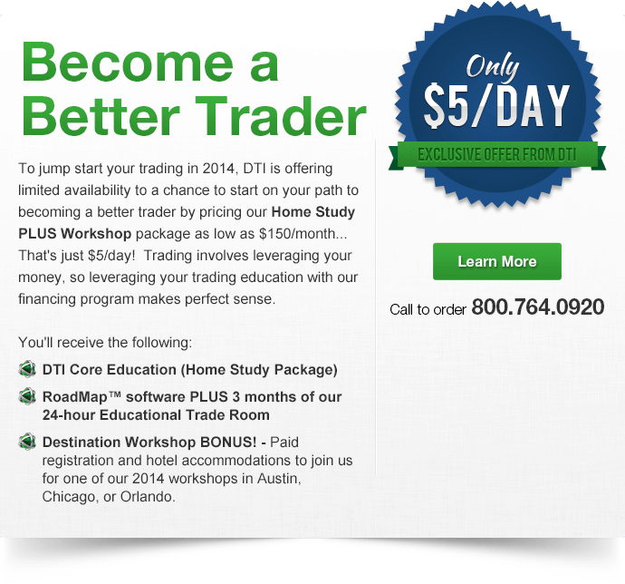 Become a Better Trader for Just $5/Day