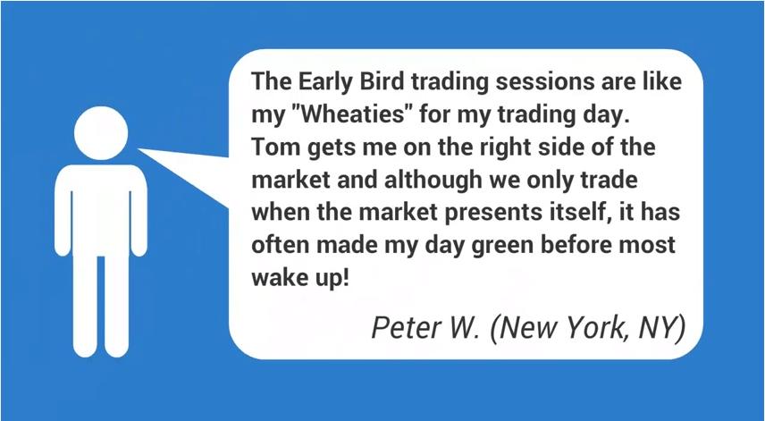 Peter Wolfing Testimonial