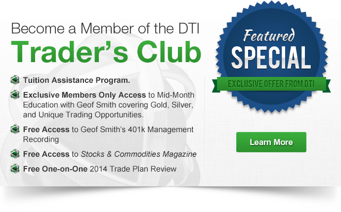 Join the DTI's Trader's Club Today!