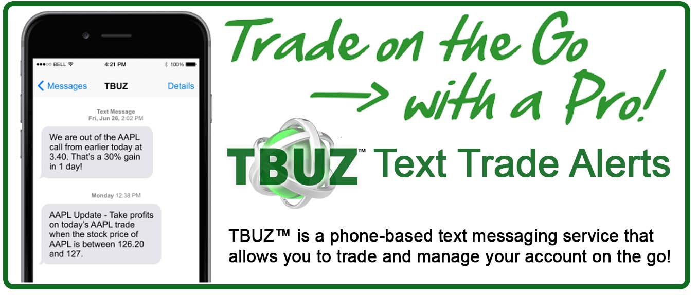 TBuz Text Trade Alerts